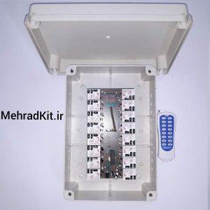 ریموت کنترل 16 کانال 40 آمپر + گیرنده
